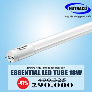 Bóng đèn Led 1m2 Philips Essential Ledtube 18w
