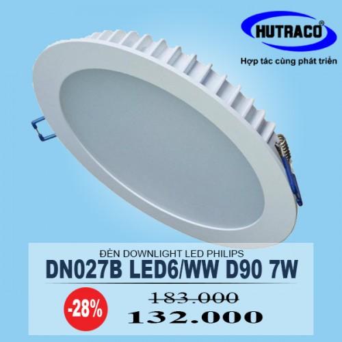 Đ 232 N Downlight 226 M Trần Led Philips Dn027b Led6 D90 7w